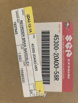 Suzuki RG500 pillion seat NOS