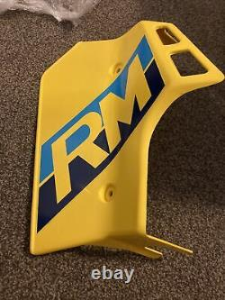 Suzuki RM125 1986 OEM NOS Radiator Shroud #17762-14500L