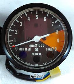 Suzuki RV125 GT100 fit GT125 TS125 TS185 TC125 Speedometer Tachometer NOS