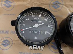 Suzuki RV125 GT100 fit GT125 TS125 TS185 TC125 Speedometer Tachometer NOS JAPAN