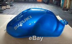 Suzuki SV650/S Fuel Tank Candy Jay Blue 1999-2000 (X/Y) NOS # 44100-19F00-Y7E