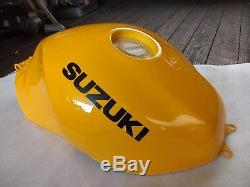 Suzuki SV650/S Fuel Tank X-K2 (99-02) Pearl Canyon Yellow NOS # 44100-19F40-Y9F