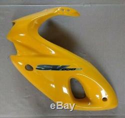 Suzuki SV650/S LH Fairing Pearl Canyon Yellow X-K2 (99-02) NOS # 94402-20F02-Y9F
