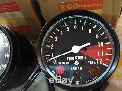 Suzuki Speedometer Tachometer Assy GT125 RV125 TS125 TS185 TC125 NOS Genuine