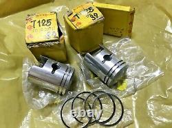 Suzuki T125 T125II T125R STINGER Piston&Ring 0.50 NOS 12110-20740&12140-14700