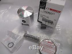 Suzuki T350 nos 1ST over piston and ring set 1969-1972.50mm Wiseco