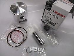 Suzuki T350 nos 2ND over piston and ring set 1969-1972 1.0mm Wiseco