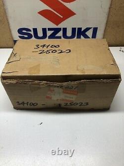 Suzuki TC100 TS100 RV90 125 Speedometer Assembly. NOS. 34100-25022, 25023, 25027