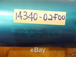 Suzuki TL1000 Exhaust Muffler L & R 1997-01 NOS TL1000S Exhaust Body 14310-02F00