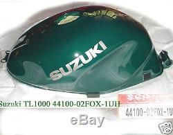 Suzuki TL1000 Fuel Tank NOS TL1000S Gas Tank 44100-02F0X-1UH TL 1000 NEW TANK