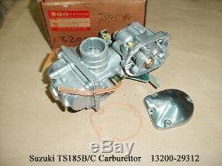 Suzuki TS185 Carburetor 1977-1979 NOS DS185 CARB 1978-90 Carburettor 13200-29312