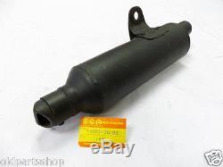 Suzuki TS185 Exhaust Muffler NOS TS 185 EXHAUST PIPE 14303-29302 MUFFLER