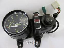 Suzuki TS75 nos speedo /ignition switch set