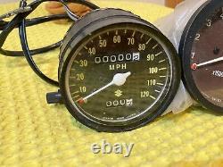 Suzuki Ts400 Speedo Speedometer Clock Dial NOS