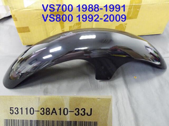 Suzuki Vs700 Vs800 Front Fender Nos Intruder Front Mud Guard 53110-38a10-33j