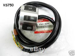 Suzuki VS750 VS800 Switch Assy L NOS INTRUDER 750 800 Handle Switch 37400-39A90