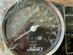 Suzuki X7 NOS Clock Set Speedometer / Tachometer Assembly NEW