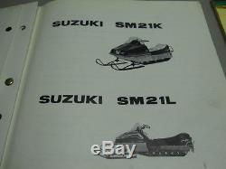 Suzuki XR400 snowmobile NOS Cylinder rebuild kit, 1974, # 11210-97200, q
