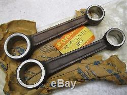 Two new OEM Suzuki connecting rods 1974-1977 GT750 NOS con rod 12161-31001