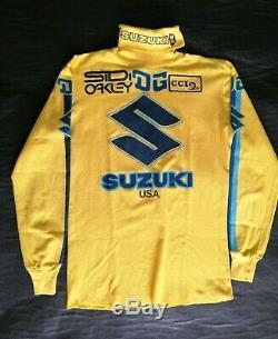 Vintage motocross jersey NOS DG Performance suzuki jt racing moto-x fox