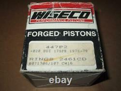 WISECO NOS VINTAGE SUZUKI PISTON KIT PE175.5mm 447P2