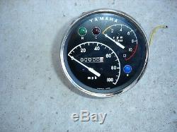 Yamaha Yds3 250 Tachometer Speedometer Nos, 1965-1967, Yds, Catalina, Big Bear, Yr1